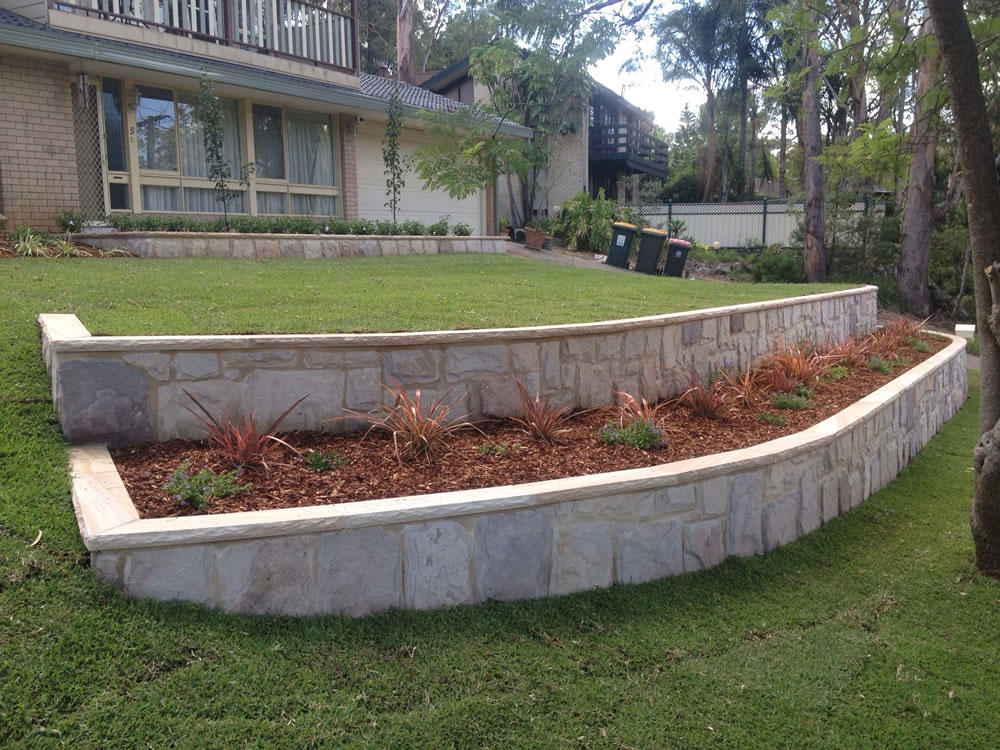 Retaining walls sydney sydney paving landscaping for Landscaping sydney