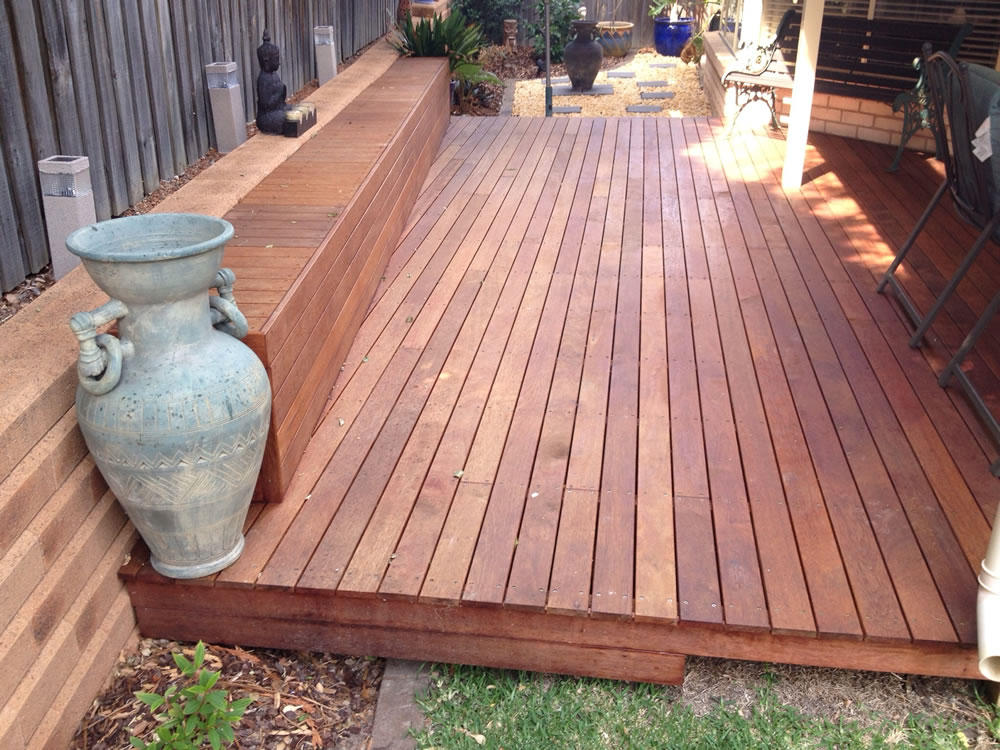Decking sydney sydney paving landscaping for Which timber for decking
